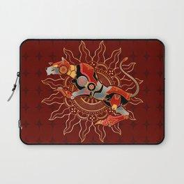 Red Lion Batik Laptop Sleeve