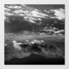 Veleta sunrise 11148 ft Canvas Print