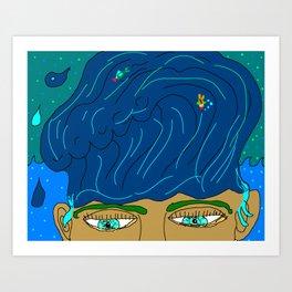 King Of The Ocean Art Print