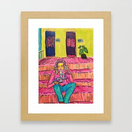 Porch Rips Framed Art Print