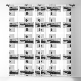 Add and Divide Pattern Blackout Curtain