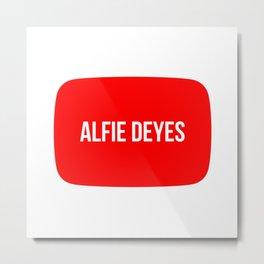 Alfie Deyes Metal Print
