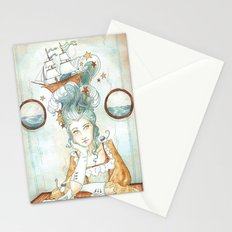 Pirate Princess Stationery Cards