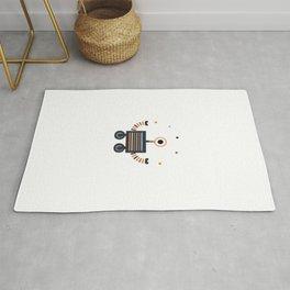 juggler robot Rug