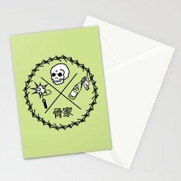Bone House Green (Hone Le) Stationery Cards
