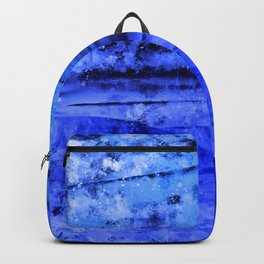 psychedelic sky clouds pattern wsdbi Backpack