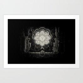 Inside the Grave... Art Print