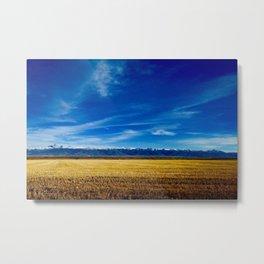 Teton Landscape Metal Print