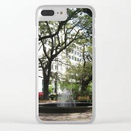 Savannah Square Clear iPhone Case