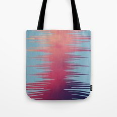 ABSTRACT SURF SUNSET Tote Bag