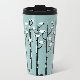 A Sheep in Tree Clothing Metal Travel Mug