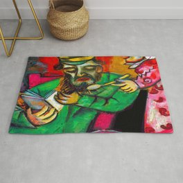 Marc Chagall Spoonful of Milk Rug