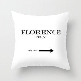 Florence - Italy Throw Pillow