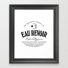 Eau Revoir Framed Art Print