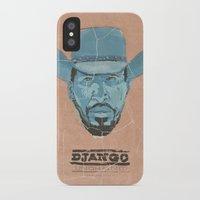 django iPhone & iPod Cases featuring Django by kjell