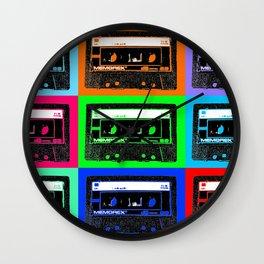 Mixtapes Wall Clock