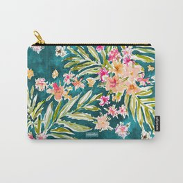 NUEVO VALLARTA Tropical Floral Carry-All Pouch