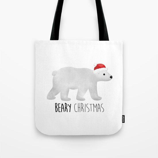 Beary Christmas | Polar Bear Tote Bag