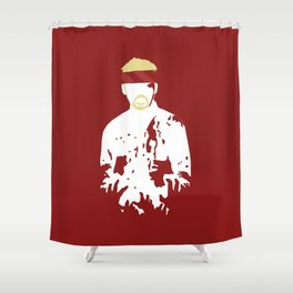 Don't Use The 'Z' Word Shower Curtain