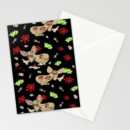 Zombie Chihuahua Stationery Cards