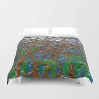 bamboo Duvet Covers featuring Bamboo by dominiquelandau