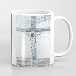 I preach Christ & Christ Crucified Coffee Mug