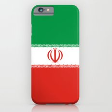 Iran country flag iPhone 6s Slim Case