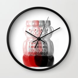 Sticky Situation Wall Clock