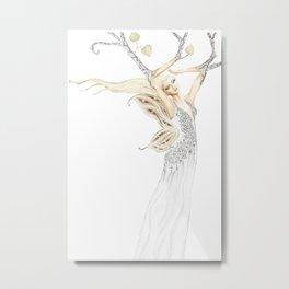 Faeroe Fairy Queen Metal Print