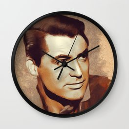 Cary Grant, Hollywood Legend Wall Clock