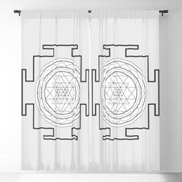 Shri Yantra Blackout Curtain