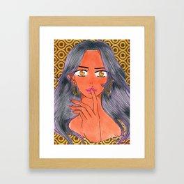 Aiesha Tonie's 1st Investigation Framed Art Print