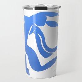 Henri Matisse,Le chevelure från 1952, Blue Hair Artwork, Men, Women, Youth Travel Mug
