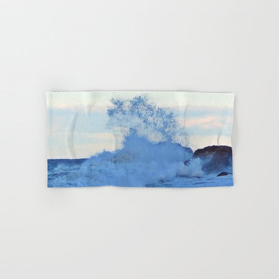 Exploding Surf  Hand & Bath Towel