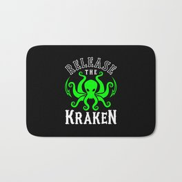 Release The Kraken Bath Mat