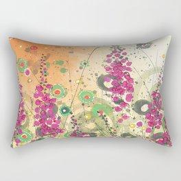 Fireweed in Melon Rectangular Pillow