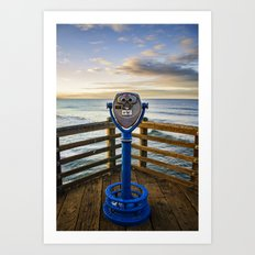 Looking Out Art Print