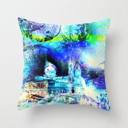 CATEDRAL ALMUDENA MADRID Throw Pillow
