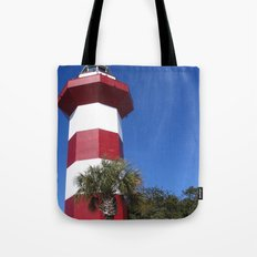 Habour Town Lighthouse Tote Bag