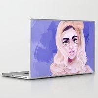 marina Laptop & iPad Skins featuring Marina by shirley