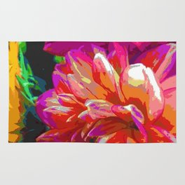 Floral Impact Rug