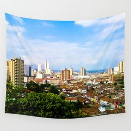 View Cali Valle del Cauca. Wall Tapestry