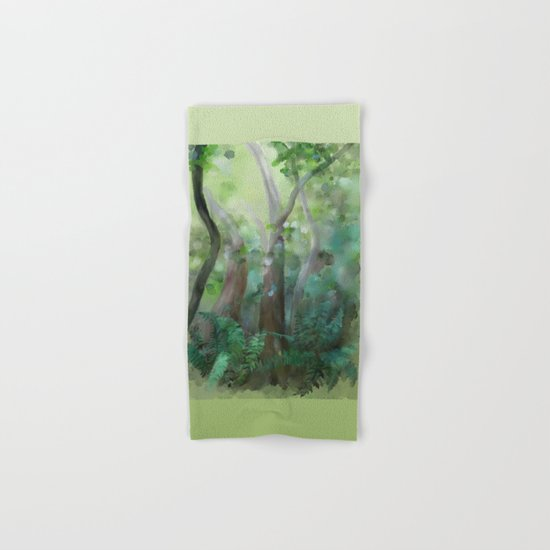 Jungle Hand & Bath Towel