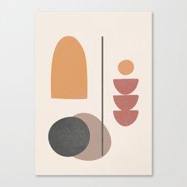 Abstract Minimal Art 02 Canvas Print