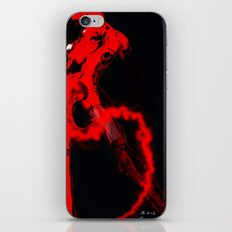 Machine Red iPhone & iPod Skin