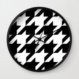 Dogtooth Wall Clock