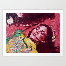 The Countess Dracula Art Print