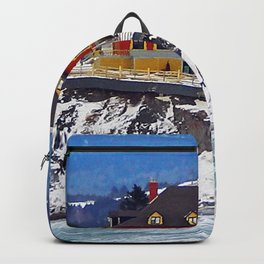 Le Chateau and the Sea Backpack