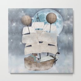 an arctic adventure Metal Print
