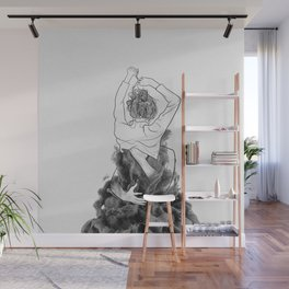 I want to know you little more deep. Wall Mural